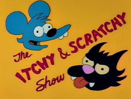 Itchy! Scratch!